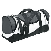 Wholesale Duffle Sports Bag | Grey/White/Black