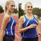 ladies contrast sports singlets online