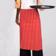 GRILL Stripe Long Waist Apron