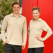 Buy Online TrueDry Long Sleeve Polo Shirts