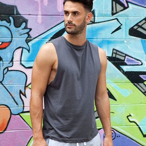 ENVY | Muscle Tank Sleeveless Tee with Low Cut Sides