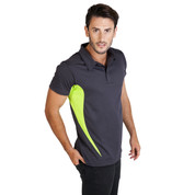 Bulk Buy Mens Quick Dry Contrast Polo Shirts