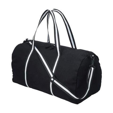 Wholesale Canvas Duffle Carry Bag   Plain Black