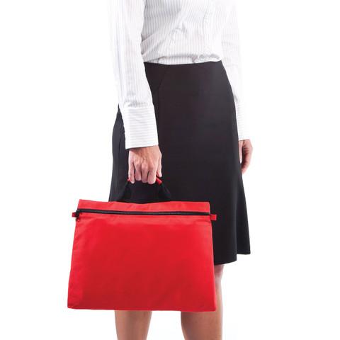 Wholesale Plain Polyester Zip Satchels Online