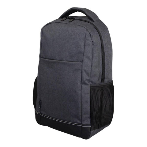 TIRANO | Canvas-Like Laptop Backpack | Carbon Grey