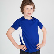 Wholesale Kids Quick Dry Contrast Tshirts