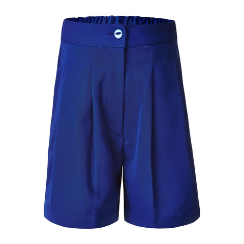 COMPASS Girls Tailored School Shorts - Royal