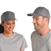 Premium Heather Polyester Baseball Cap