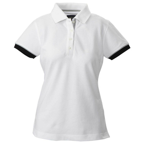 ANDERSON   Ladies Contrast Modern Fit Polo Shirt