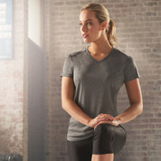HACKETT | Ladies Quick Dry Tshirt with Reflective Piping