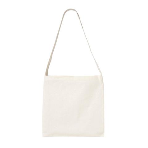 Bulk Buy Plain Cotton Calico Messenger Bag