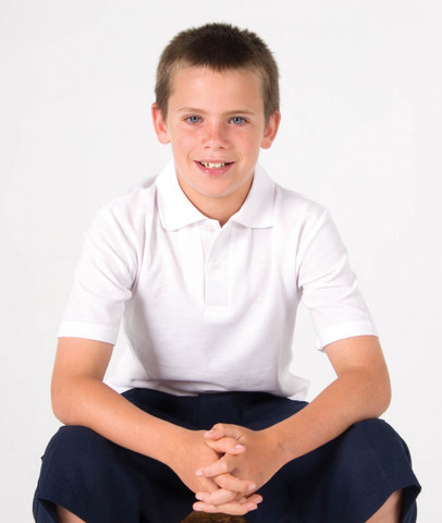 Buy blank Kids Polo Shirts Online