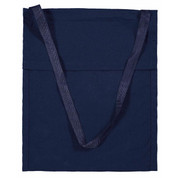 Plain Canvas Library Bag