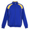 Plain Gym Men's Track Jacket Royal + Gold