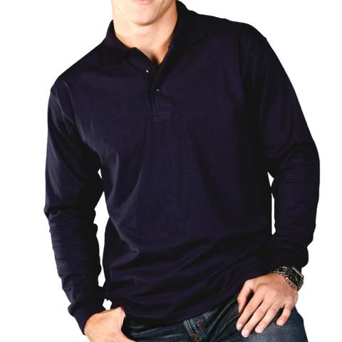 44ae4b04c22 ... best price carsden polo shirts long sleeves plain jersey a6445 9d6ba