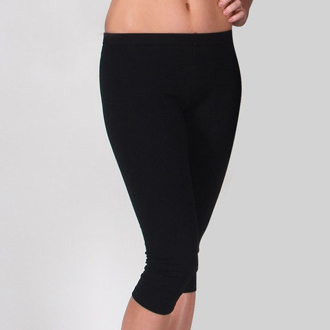 Wholesale Plain 3/4 Gym Pants Leggings Online