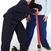 Kids Reinforced Knee Track Pants