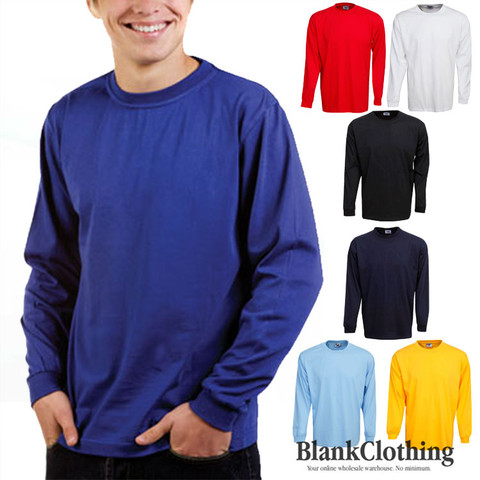 Kids Plain Long Sleeves T-shirts | children