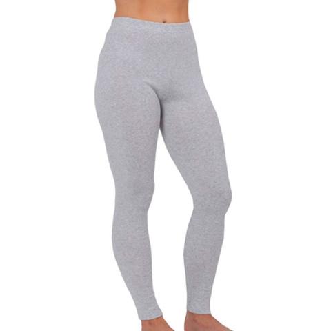 Buy Online Seam Free Cotton Legging | grey marl