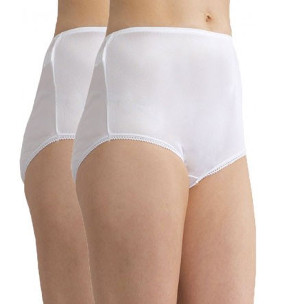 SHAY Nylon Full Brief | 2 Pack