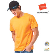 KANSAS Men Heavyweigt Slim Fit T Shirt Orange