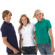 Mens Slim Fit Pique Polo Shirts