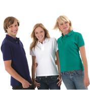 Mens Slim Fit Pique Polo Shirts