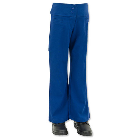 Stretch Fly- Front School Pants for Girls