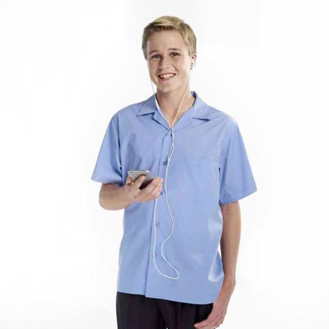 Boys Short Sleeve School Shirts (Pack of 4)