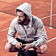 Mens warm heavy zipper hoodies