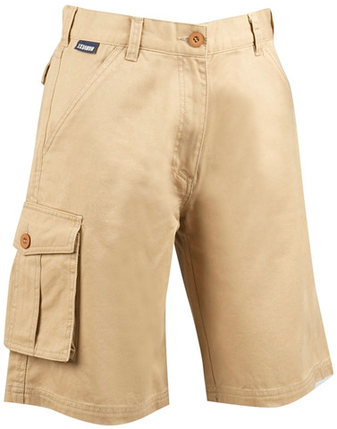 Women Cargo Shorts Beige