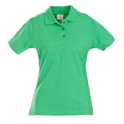 custom ladies polo shirt | green