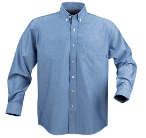 MADISON Men business shirts long sleeve Blue
