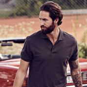 MORETON Men cotton pique polo shirts | James Harvest