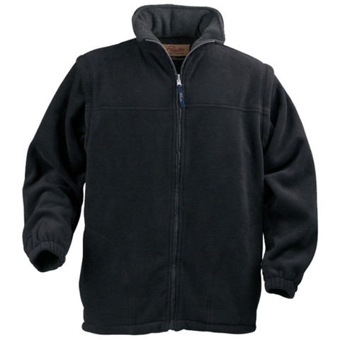 SQUEEZE Unisex all-weather jacket combo Polar Black
