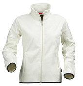 TYROL Women deluxe double-face jackets Eggshell/Black