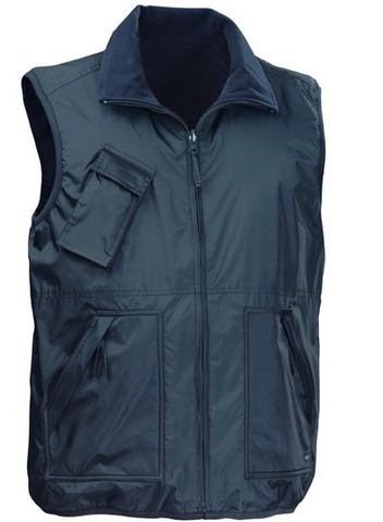 WARREN deluxe body warmer vests Navy