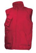 WARREN deluxe body warmer vests Red