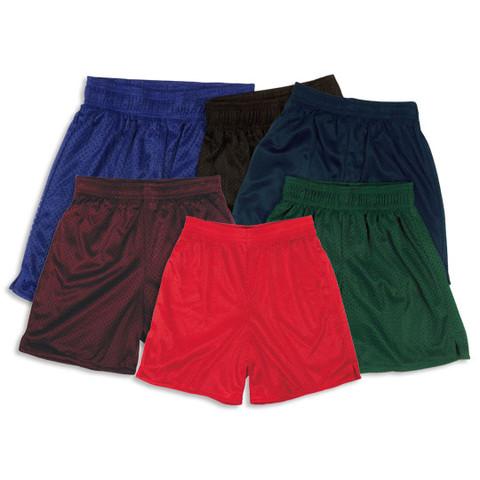 Plain Mesh Shorts For Kids