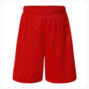 Plain Sport Shorts - Red