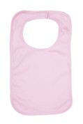 Bulk Buy Large Organic Cotton Baby Bibs Online | Pink