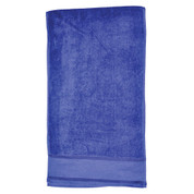 plain cotton fitness towels / gym towel | navy