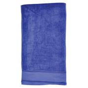 plain cotton fitness towels / gym towel | navy