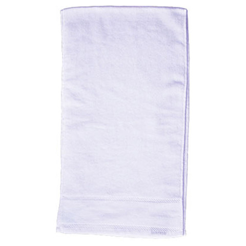 blank cotton fitness towels / gym towel | white