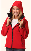 ASPEN Women soft shell hooded jackets