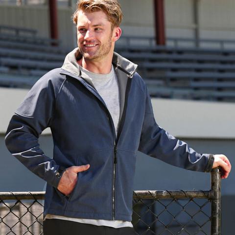ASPEN Mens soft shell hooded jackets