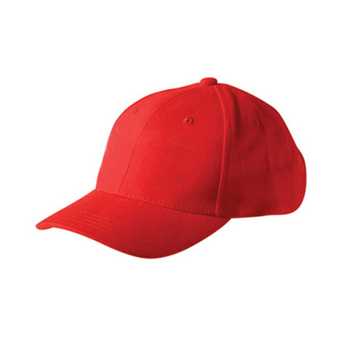 Kids Plain Baseball Caps Online | Red