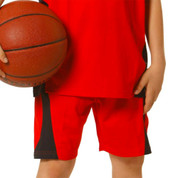 Plain Kids Basketball Uniform Shorts Online