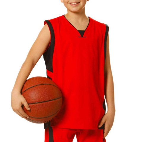 Wholesale Childrens contrast Quick dry singlets