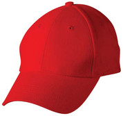 buy wholesale baseball caps 6 panels hat | Red